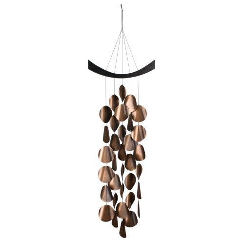Copper Wind Chime - Woodstock Chimes MW Moonlight Waves Chime, Copper