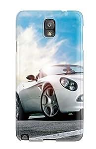 High-quality Durability Case For Galaxy Note 3(alfa Romeo Black Car Model Desktop)