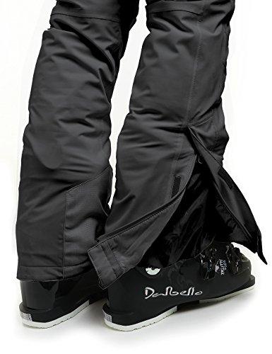 Ski Pantalon Skihose Sports Femme Maier Vroni Noir De Slim Xq1OZnB
