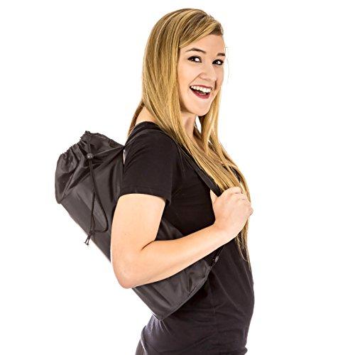 Fit Armonia in nylon Gymsack, perfetto per rullo in schiuma 6x 13: raddoppia come una borsa sportiva, Custodia per vestiti, attrezzature da palestra