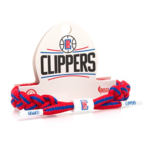 fan products of Rastaclat NBA Los Angeles Clippers Basketball Shoelace Bracelet RC001LAC