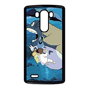 Personality customization TPU Case with My Neighbour Totoro LG G3 Cell Phone Case Black