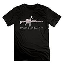 Men's AR-15 Come And Take It Cotton Short Sleeve T Shirts