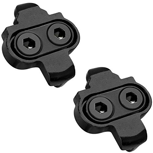 Marque Bike Cleats Compatible with Shimano SPD SM SH51 – Cleat Set for Indoor Cycling, Outdoor Road Cycling, Mountain…