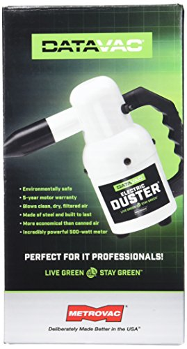 Metro ED500 DataVac 500-Watt 120 volt 0.75-HP Electric Blower Duster - Data Vac Pro Cleaning Kit