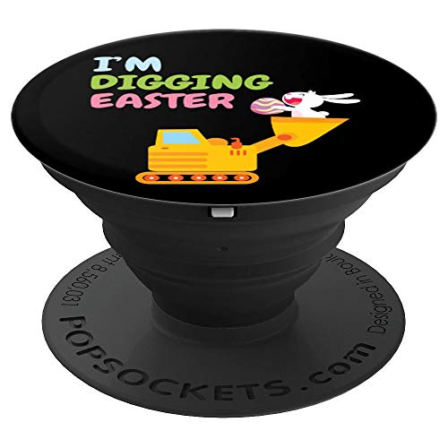 Easter Egg Hunt Tractor Trailer Truck - PopSockets Grip and Stand for Phones and - Tractor Egg
