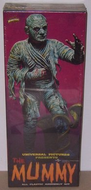 The Mummy, Aurora re-issue Model Kit by Polar Lights