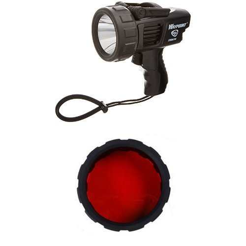 Streamlight Waypoint Spotlight with 120-Volt AC Charger, Bla