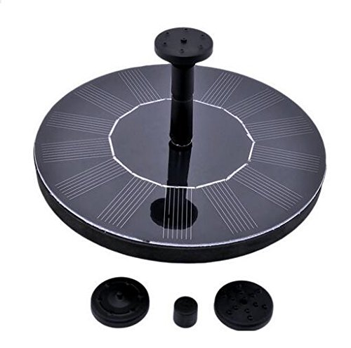 Solar Powered Water Pump Garden Fountain Pond Feature for Waterfall Water Display Fall Displays