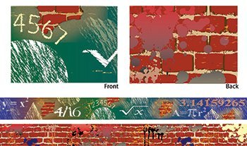 (Teacher Created Resources  Graffiti Math Xtreme Double-Sided Border)