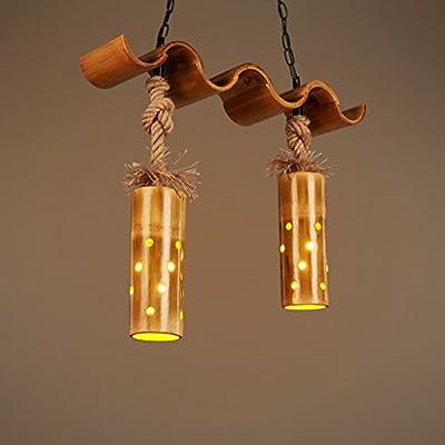 candelabro YYF Creative Personalidad Bar Retro lámpara Restaurante ...