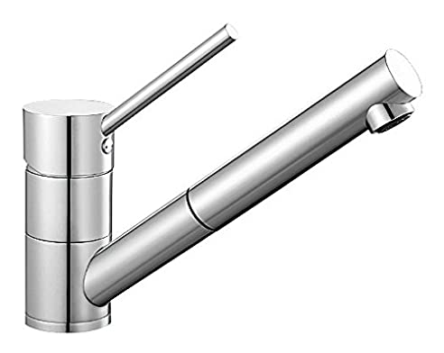 BLANCO ANTAS-S Küchenarmatur / Kompakter Einhebelmischer in Chrom ...