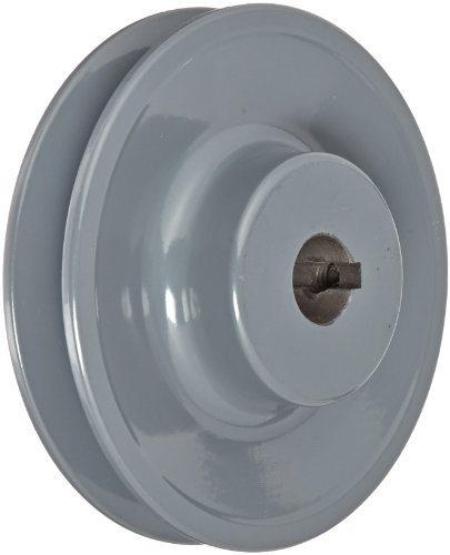 Gates AK41 Light Duty Web Sheaves, AK Type, 3.95'' OD, 1 Groove, 5/8'' Bore by Gates
