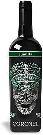 1 Botella Premium Serigrafiada de 75cl / Venta Exclusiva en Amazon,Producción limitada, Bodega Artes