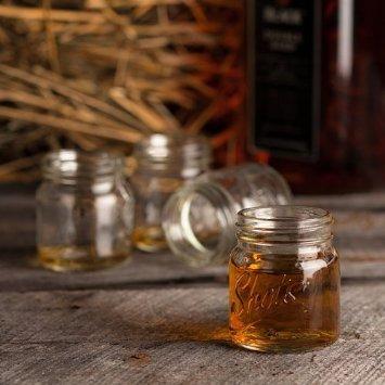 Shot Glass Bundle - Home Essentials Set of 6 Beer Mug Shot Glasses - 2 Oz and Mason Jar Shot Glasses, Set of 6 - 2 Oz