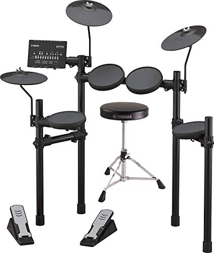 Yamaha DTX402K Electronic Drum Kit with Drum Throne