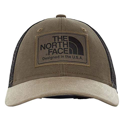 - The North Face Kids Unisex Youth Mudder Trucker Hat New Taupe Green/TNF Black One Size