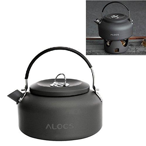 Alocs CW-K03 アウトドアケトル キャンプ ピクニック ウォーターティーポット コーヒーポット 1.4L アルミニウム   B00O63QGD2