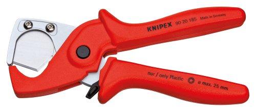 KNIPEX 90 20 185 Rohrschneider für Schläuche und Schutzrohre aus zähem, glasfaserverstärktem Kunststoff 185 mm