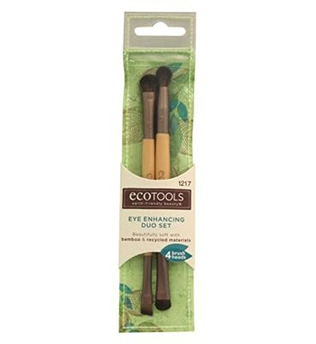 Ecotools Eye Enhancing Duo Brush Set - Pack of 2