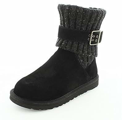 Amazon Com Ugg Australia Womens Cambridge Black Boot 5