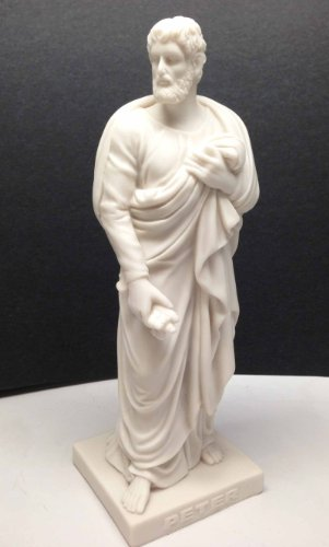 THORVALDSEN APOSTLE PETER THE ROCK STATUE JESUS CHRIST DISCIPLES 8
