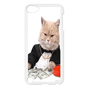 C-Y-F-CASE DIY Cute Cat Pattern Phone Case For Ipod Touch 5
