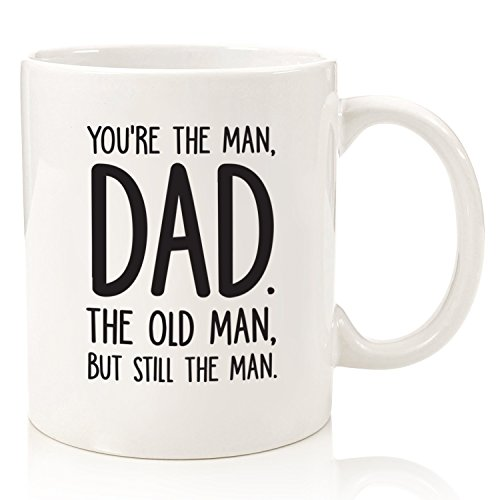 The Man/The Old Man Funny Dad Mug - Best Dad Father