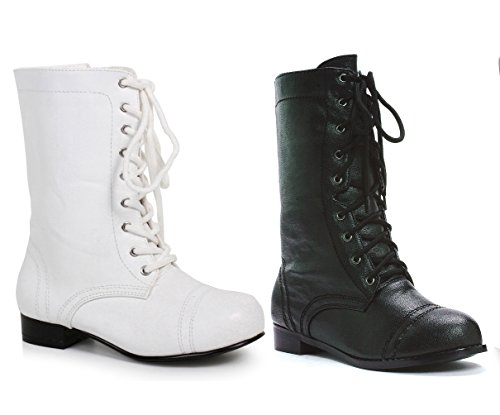 Ellie Shoes 1″ Combat Boots. Childrens.