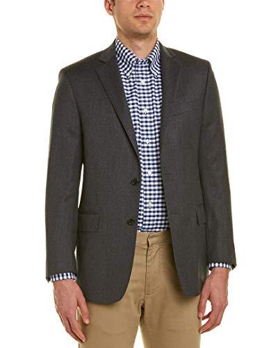 Brooks Brothers Wool Coat - Brooks Brothers Mens Regent Fit Wool Sport Coat, 42R, Grey