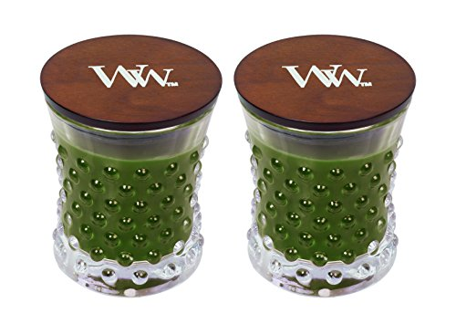 WoodWick Vintage Hobnail Candle Set - Frasier Fir by WoodWick