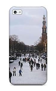 Valerie Lyn Miller YavzWLu4913oXiVG Case Cover Iphone 5c Protective Case Amsterdam City WANGJING JINDA