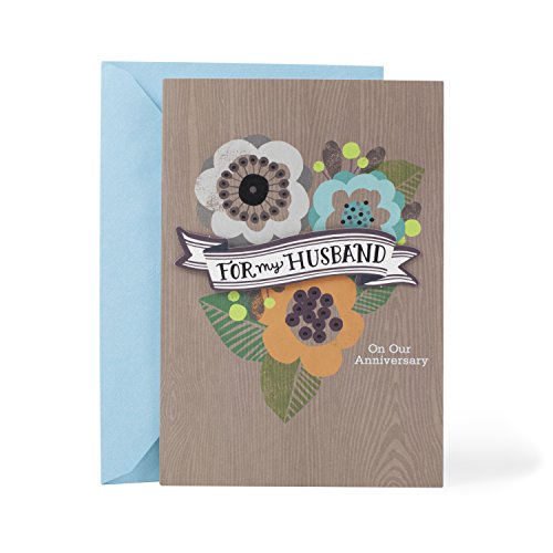 Hallmark Mahogany Anniversary Greeting Card for Husband (How Amazing You Are)