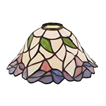 """Meyda Tiffany 12253 Daffodil Bell Lamp Shade, 9"""" Width"""