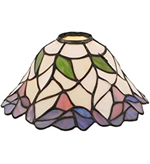 Meyda tiffany 138904 belvidere lamp shade 8 width amazon meyda tiffany 12253 daffodil bell lamp shade 9 width aloadofball Images