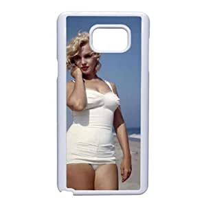 Samsung Galaxy Note 5 Cell Phone Case White Marilyn Monroe Tpubqw Hard protective Case Shell Cover