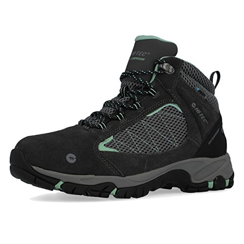 Walking Boots Waterproof Tec Hi Explorer Mid Black Women's qWwXp7Uft7