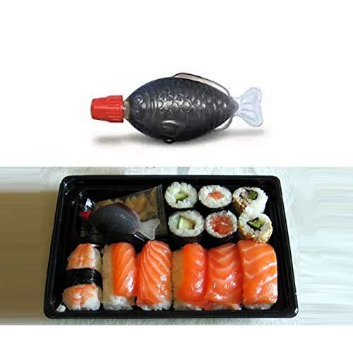 Herb & Spice Tools | 200Pcs 4Ml Fish-Shaped Soy Sauce Bottles Vinegar Bottles Disposable Sauce Bottles Rice Balls Sashimi Sushi | By ATUTI by ATUTI