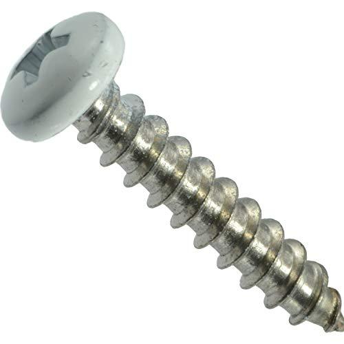 """Hard-to-Find Fastener 014973208226 208226 Phillips Pan SMS, 10 x 1"""", 100 Screws"""