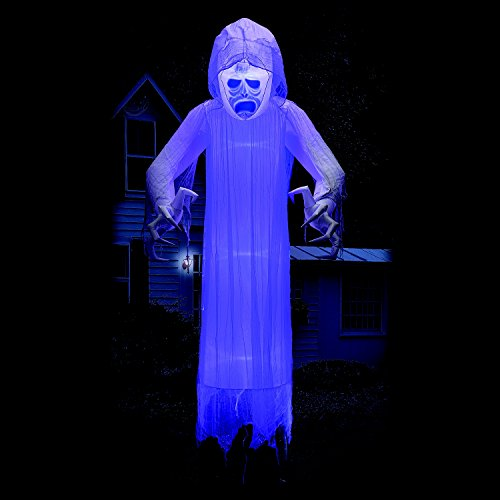 Member's Mark 12' Floating Halloween Ghost with Lightshow Effects