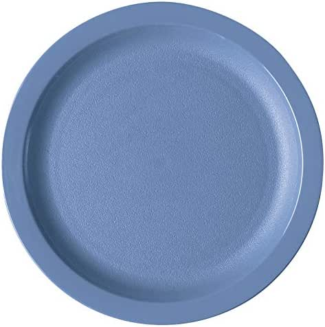 Cambro 9CWNR401 Slate Blue Camwear Narrow Rim 9