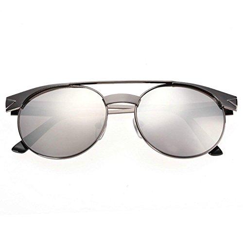 eshion Premium Full Mirrored Aviator Sunglasses w/ Flash Mirror Lens