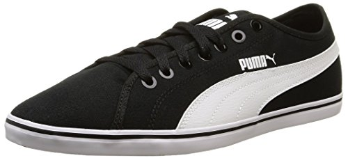 Puma Elsu V2 CV, Baskets Basses Homme Noir (Black/White)