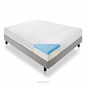 Amazon LUCID 12 Inch Memory Foam Mattress Dual