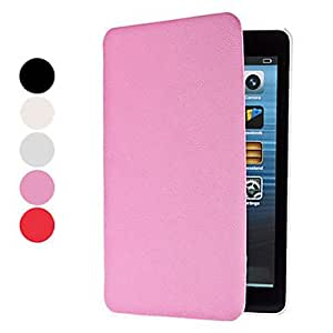 Protective PU Leather Case with Stand for iPad Mini (Assorted Colors) , Pink