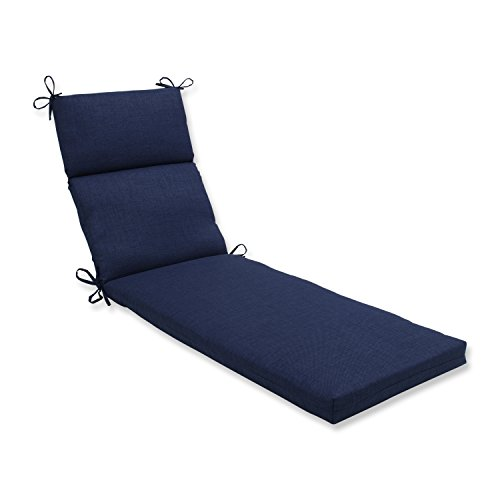 Pillow Perfect Outdoor / Indoor Rave Indigo Chaise Lounge Cu