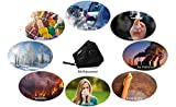Pollution Mask Military Grade Anti Dust (with 6) N99 Filters Washable Cotton Respirator with Adjustable Ear Strap/Allergy / Cycling/Running / Hiking/Painting / Cleaning/Construction (Black)