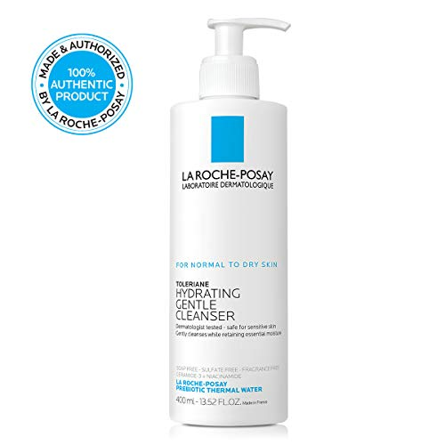 La Roche-Posay Toleriane Hydrating Gentle Cleanser, 13.52 Fl. Oz.
