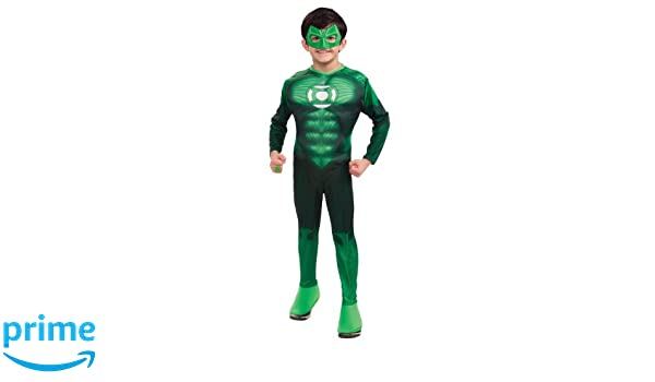 Amazon.com: Green Lantern Hal Jordan Costume Boys XL 14-16 ...