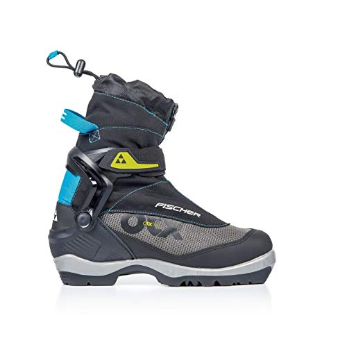 Fischer Women's Offtrack 5 BC MyStyle Cross Country Ski Boot Black/Silver/Blue - 43